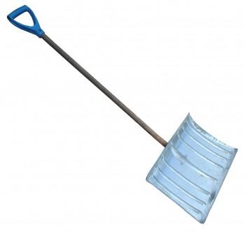 Лопата снегоуборочная оцинкованная с черенком