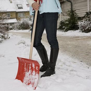 прочная легкая лопата для уборки снега