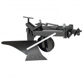 Плуг для мотоблока Zirka-105 (опорное колесо, короткая рама)