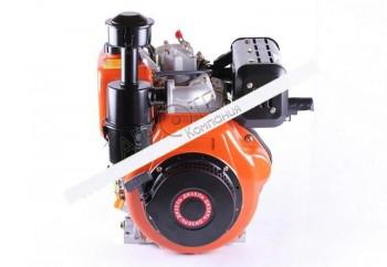 Двигатель 186F — (под шпонку Ø25 mm) (9 л.с.)