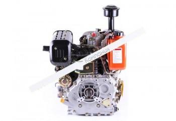 Двигатель 186FE — (под шпонку Ø25 mm) (9 л.с.) с электростартером