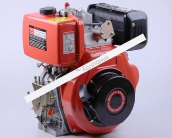 Двигатель 186FE — (под шлицы Ø25 mm) (9 л.с.) с электростартером
