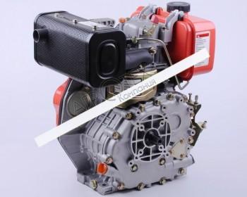 Двигатель 178F — (под шлицы Ø25 mm) (6 л.с.)