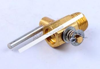 Кран головки слива охлаждающей жидкости O13 mm — 180N — Premium