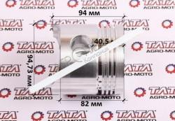 Поршень голый 95,0 mm STD Mototraktor — 195N