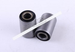 Сайлентблок маятника (пара) L-35mm Ø10/Ø23mm — Дельта/Альфа — Premium