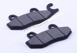 Колодки тормоза передние (дисковые с ушком) — Актив