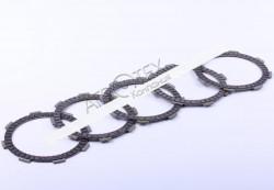 Диски сцепления комплект (5 шт.) — ZUBR