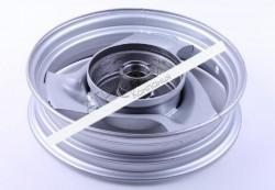 Диск передний стальной, барабанный тормоз — Yamaha JOG 50