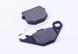 Колодки тормозные передние (дисковый тормоз) — AD50/sepia