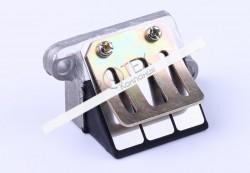 Клапан лепестковый — AD50/sepia
