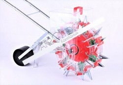 Ручная сеялка колесо двухрядная на 7 сопел (7A2-2 TATA)