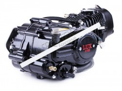 Двигатель Дельта/Альфа/Актив (125CC) — водяное охлаждение (с радиатором и вентилятором, без электростартера) BLACK — TATA LUX