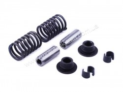 Клапанный механизм комплект GZ (пружины, тарелки, сухари, направл.) на 2 кл. — 195N