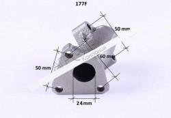 Колено глушителя — 177F