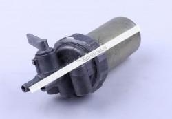 Кран топливный железный стакан (ZUBR original) — 195N