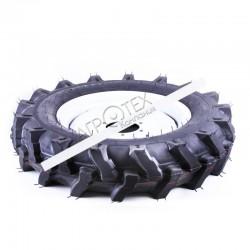 Колесо в сборе 6.50*16 (под 6 болтов) 20,00 кг — минитрактор