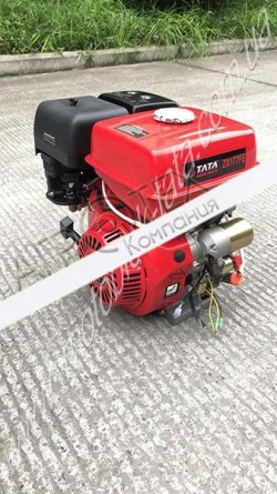 Двигатель 177FE — бензин (под шлицы Ø25 mm) (9 л.с.) с электростартером