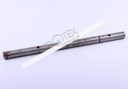 Вал вилки блокировки дифференциала L-363 mm Ø20 mm DongFeng 354/404