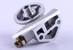 Кронштейн масляного фильтра с клапаном КМ385ВТ DongFeng 240/244, Foton 240/244, Jinma 240/244
