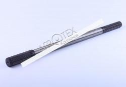 Вал карданный приводной L-505 mm Z-15/19 Foton 244, Jinma 244/264