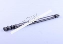Ось вилки переключения 2/5 передачи КПП L-280mm Xingtai 24B, Shifeng 244,Taishan 25