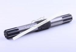 Вал подъемный L-380mm, Z-8/31/8 Jinma 200/204/240/244