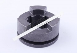 Муфта (шестерня) блокировки дифференциала подвижная Z-3/8 (нового образца) Foton 244, ДТЗ 240