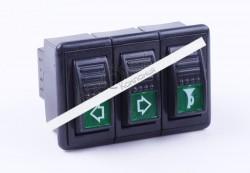 Блок переключателей (2-х позиционный) DongFeng 240/244