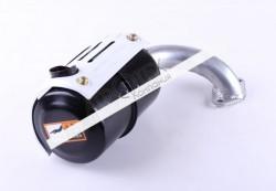 Глушитель с коленом SH (Zubr) — 180N