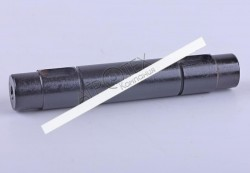 Вал промежуточный привода масляного насоса L-129mm (шпонка) Xingtai 120