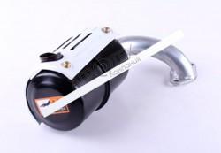 Глушитель с коленом SH (Zubr) — 180N — Premium