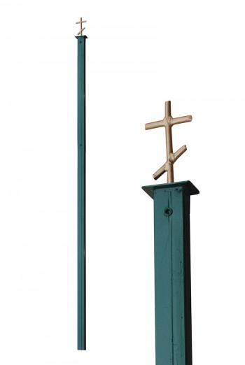 Церковный столбик для забора