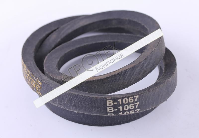 Ремень B-1067 (L-540mm*2) — 168F — Premium