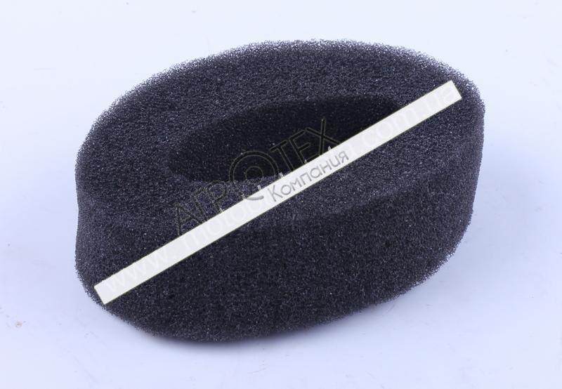 Фильтрующий элемент воздушного фильтра поролон круглый — 168F