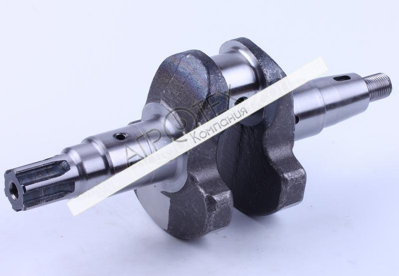 Коленвал голый под шлицы O25 mm — 178F