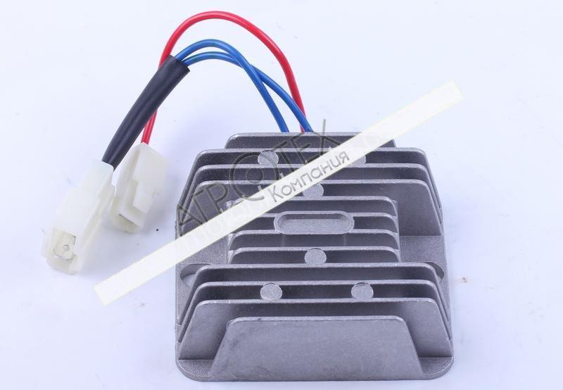 Реле зарядки (2 разъема 3 провода) — 178F/186F