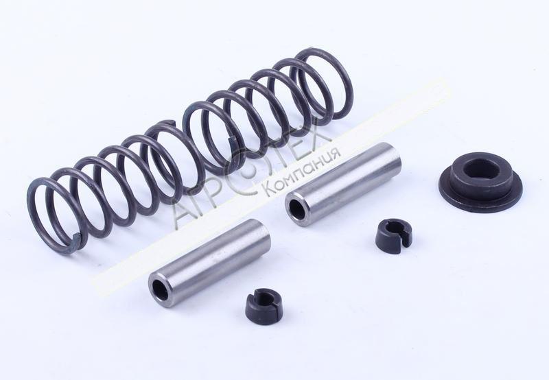 Клапанный механизм комплект (пружины, тарелки, сухари, направл.) на 2 кл. — 180N