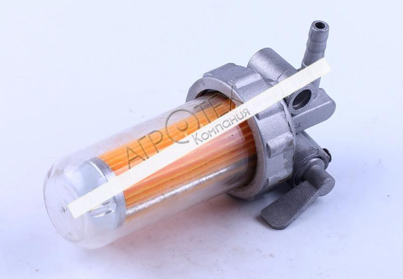 Кран топливный (стакан пластиковый) — 180N