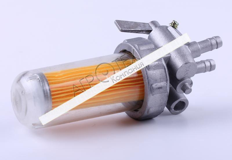 Кран топливный (стакан пластиковый) — 190N