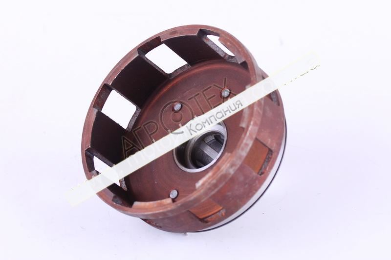 Корзина сцепления пустая (под шлицы O25mm) — КПП
