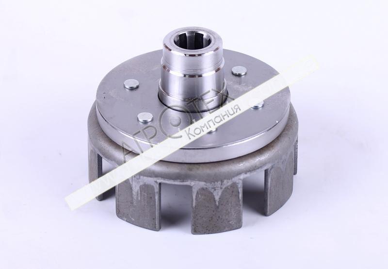 Корзина сцепления под шлицы O20 mm (пустая) — 168F-170F