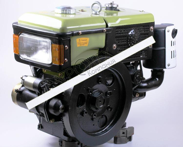 Двигатель SH195NDL — Zubr (12 л.с.) с электростартером