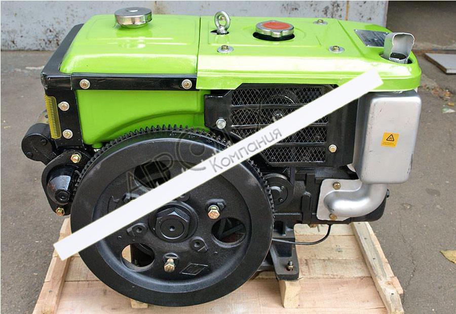 Двигатель R190NL — GZ (10 л.с.)