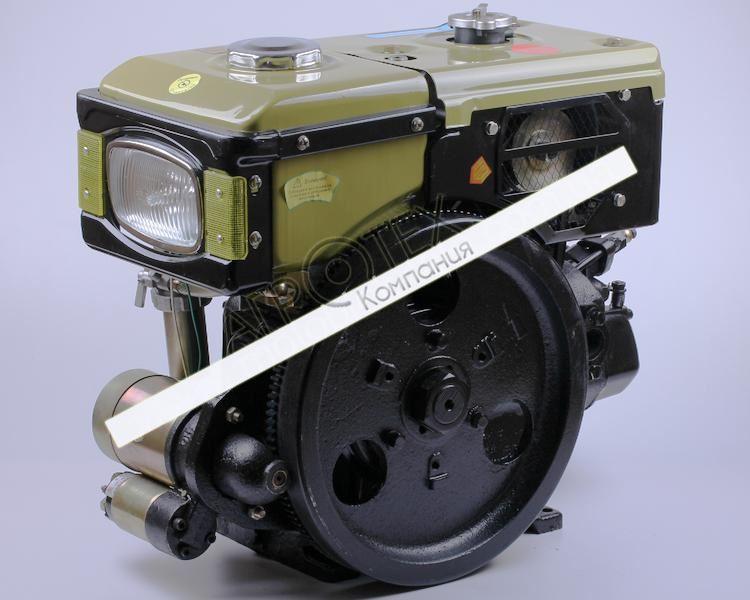 Двигатель R180NDL — GZ (8 л.с.) с электростартером