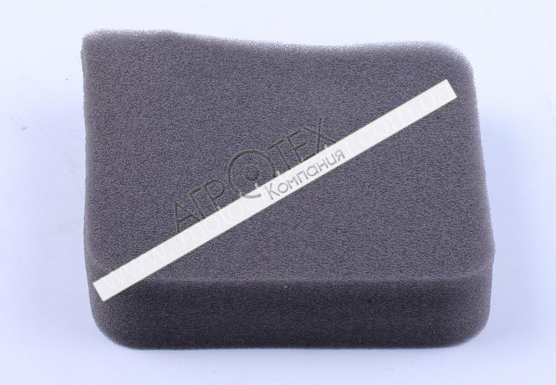 Фильтрующий элемент воздушного фильтра поролон прямоугольный — 168F