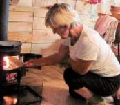 Выбираем буржуйку на дровах для отопления дома